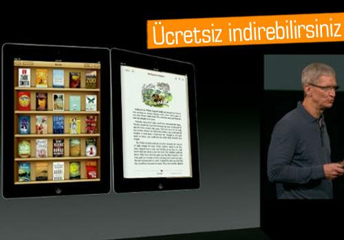 Apple e-kitap uygulaması iBooks 3'ü duyurdu