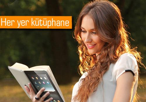 Turkcell'in mobil kütüphanesi Turkcell Kitaplık açıldı