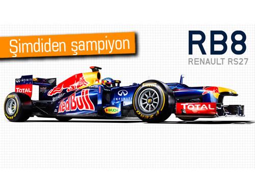 Red Bull kendinden emin