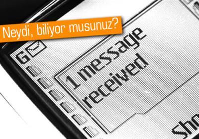 İLK SMS'Sİ KİM ATTI VE O MESAJ NEYDİ?