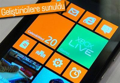 WİNDOWS PHONE 7.8 SDK YAYINLANDI