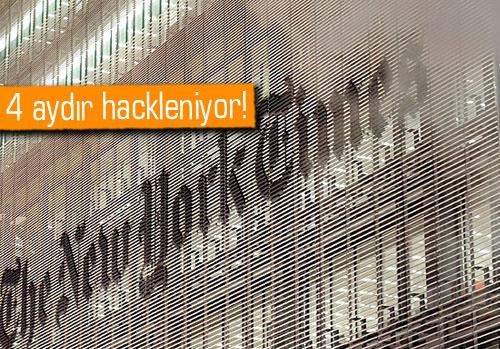 İnternet korsanları NY Times'in ağlarına sızdı