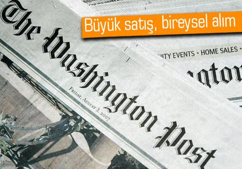 Amazon.com'un sahibi, Washington Post'u satın alıyor