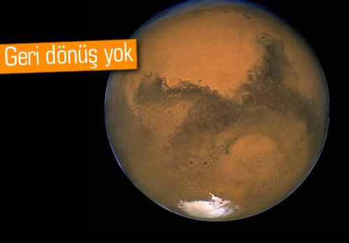 Mars'a yolculuk için 165 bin başvuru