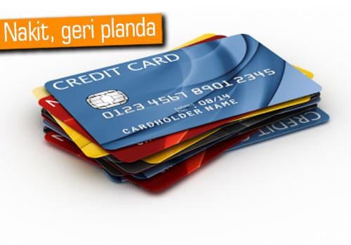 Kredi kartında Avrupa üçüncüsüyüz