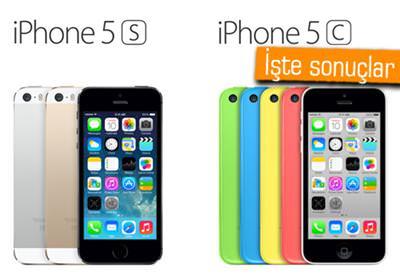 İPHONE 5S VS. İPHONE 5C - HANGİSİ DAHA ÇOK TERCİH EDİLİYOR?