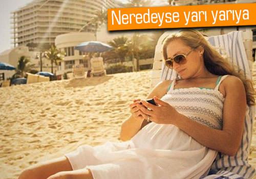 Türkiye'de tatilde veri kullanımı büyük artış gösterdi