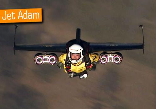 Jet adam bu kez Fuji Dağı'nın üzerinde uçtu