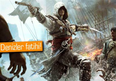 ASSASSİN'S CREED IV: BLACK FLAG (XBOX 360)