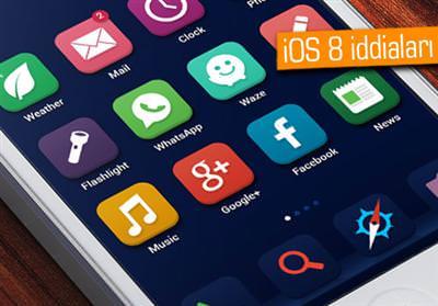 OS X MAVERİCKS'İN BAZI ÖZELLİKLERİ İOS 8'E YANSIR MI?