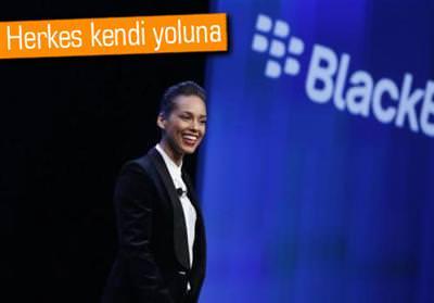 ALİCİA KEYS VE BLACKBERRY'İN YOLLARI AYRILDI