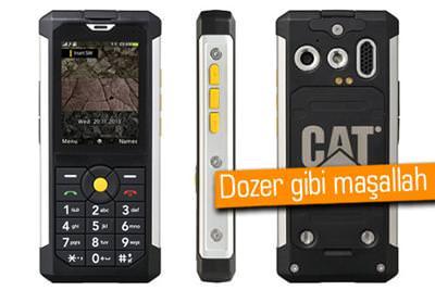 CES 2014: CATERPİLLAR'DAN 3 METRE DERİNLİKTE ÇALIŞAN TELEFON