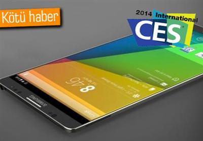 CES 2014: SAMSUNG GALAXY S5 CES'TE YOK!
