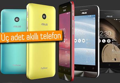 CES 2014: ASUS'TAN ZENFONE SERİSİ AKILLI TELEFONLAR