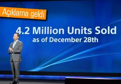 CES 2014: SONY, 4.2 MİLYON PLAYSTATİON 4 SATIŞI GERÇEKLEŞTİRDİ