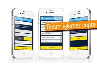 TURKCELL'DEN 'RESMİ İŞLERİM' UYGULAMASI