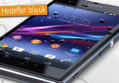 SONY'NİN AKILLI TELEFON PAZARINDA HEDEFİ BELLİ