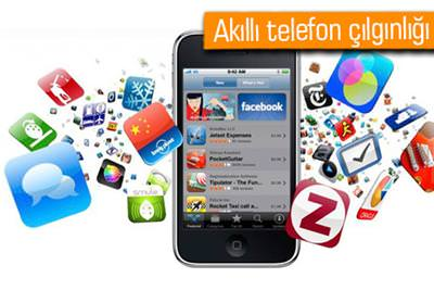 AKILLI TELEFONLAR BİR YILLIK SÜREÇTE YÜZDE 40 DAHA FAZLA VERİ HARCAMIŞ