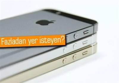İPHONE VE İPAD'İNİZDE 1GB'LIK EKSTRA BOŞ YER İSTER MİSİNİZ?