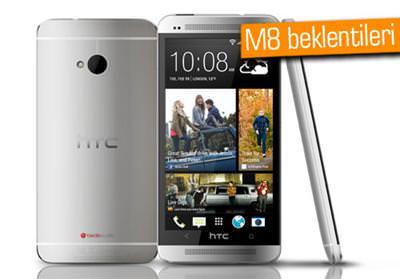 HTC M8'DEN BEKLENTİLER YÜKSEK