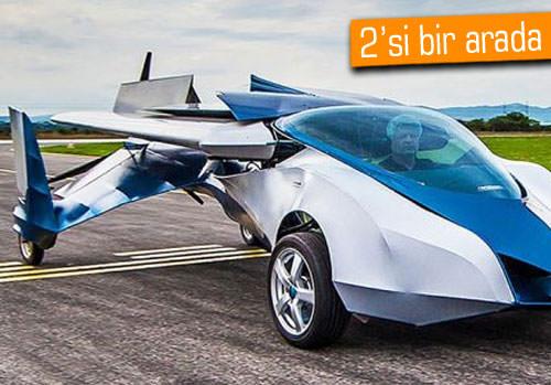 İşte uçan araba: Aeromobil