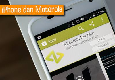 İPHONE'DAN MOTOROLA TELEFONLARA NASIL TRANSFER YAPILIR