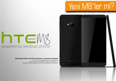 HTC M8 VE M8X ORTAYA ÇIKTI!