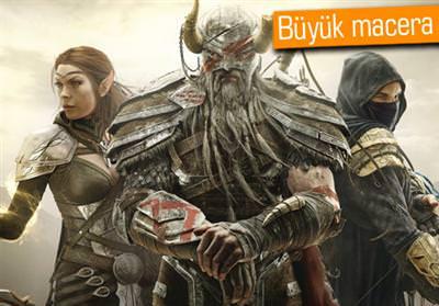 THE ELDER SCROLLS ONLİNE'DAN OYNANIŞ VİDEOSU