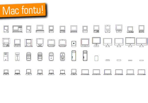 Mac'ler şeklindeki özel yazı fontunu kaçırmayın