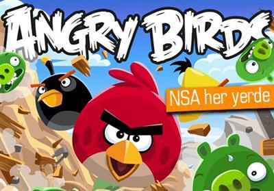 NSA, ANGRY BİRDS'Ü DE BİLGİ SIZDIRMAK İÇİN KULLANMIŞ
