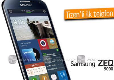 İŞTE SAMSUNG'UN TİZEN İŞLETİM SİSTEMLİ TELEFONU