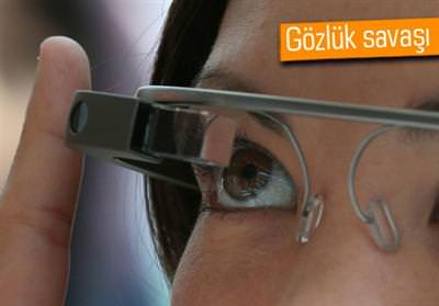 SAMSUNG'TAN GOOGLE GLASS'A RAKİP GELİYOR: GALAXY GLASS