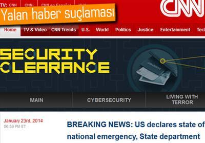 SURİYE ELEKTRONİK ORDUSU, CNN'İ HACKLEDİ