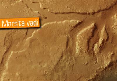 MARS'TA VADİ KEŞFEDİLDİ