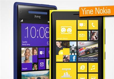 NOKİA, 4. KEZ HTC'Yİ YENDİ