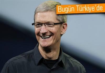 APPLE CEO'SU TİM COOK, BUGÜN TÜRKİYE'YE GELİYOR