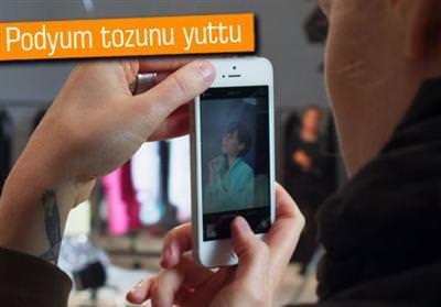 İPHONE 5S İLE DEFİLE ÇEKİMİ