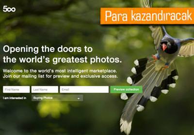 FOTOĞRAFLARINIZI PARAYA ÇEVİREN PLATFORM