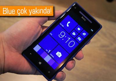 HTC, BLUE GÜNCELLEMESİNİ 8X'E GETİRECEK