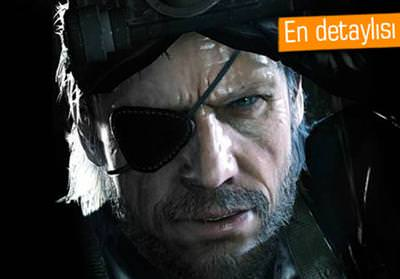 METAL GEAR SOLİD V, SADECE PS4'TE FULL HD