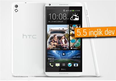HTC'NİN ORTA SEVİYE PHABLETİ DESİRE 8 ORTAYA ÇIKTI