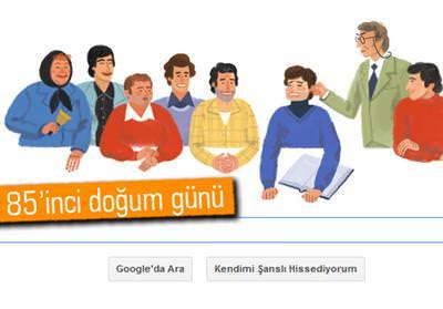 GOOGLE'DAN ERTEM EĞİLMEZ DOODLE'I