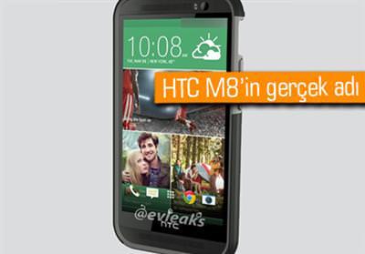 HTC M8'İN GERÇEK İSMİ ŞOK GEÇİRTECEK