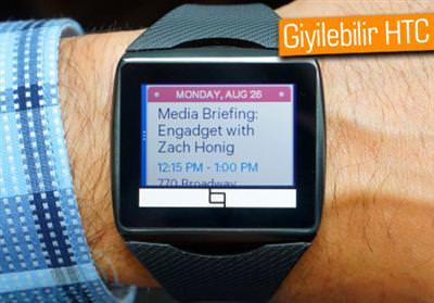 GÜNÜN DEDİKODUSU: HTC, MWC 2014'TE AKILLI SAATLERİNİ GÖSTEREBİLİR