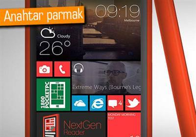 WİNDOWS PHONE 8.1 İLE PARMAK İZİ OKUYUCU GELEBİLİR