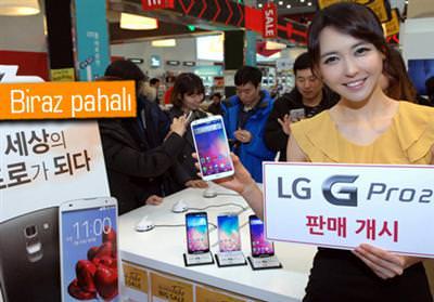 LG G PRO 2 SATIŞA ÇIKTI