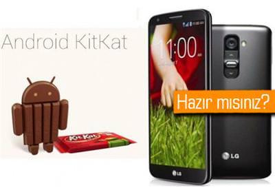 LG G2 İÇİN ANDROİD 4.4.2 GÜNCELLEMESİ DAĞITILMAYA BAŞLADI