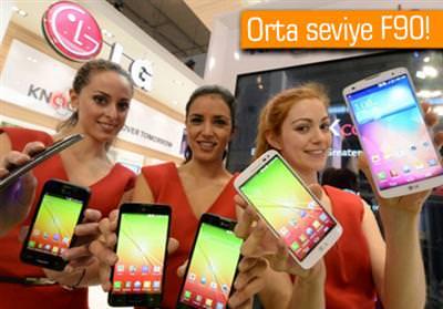 MWC 2014: LG, F90 AKILLI TELEFONUNU TANITTI