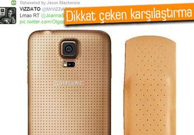 HTC'DEN GALAXY S5'E YARA BANDI BENZETMESİ