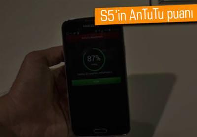 MWC 2014: SAMSUNG GALAXY S5'İ ANTUTU'DA TEST ETTİK!